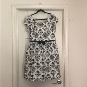 RockSteady black and white vintage inspired dress